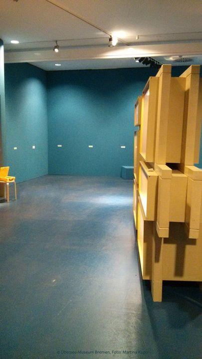 Alles vorbei! Abbau der Ausstellung im Übersee-Museum Bremen.
